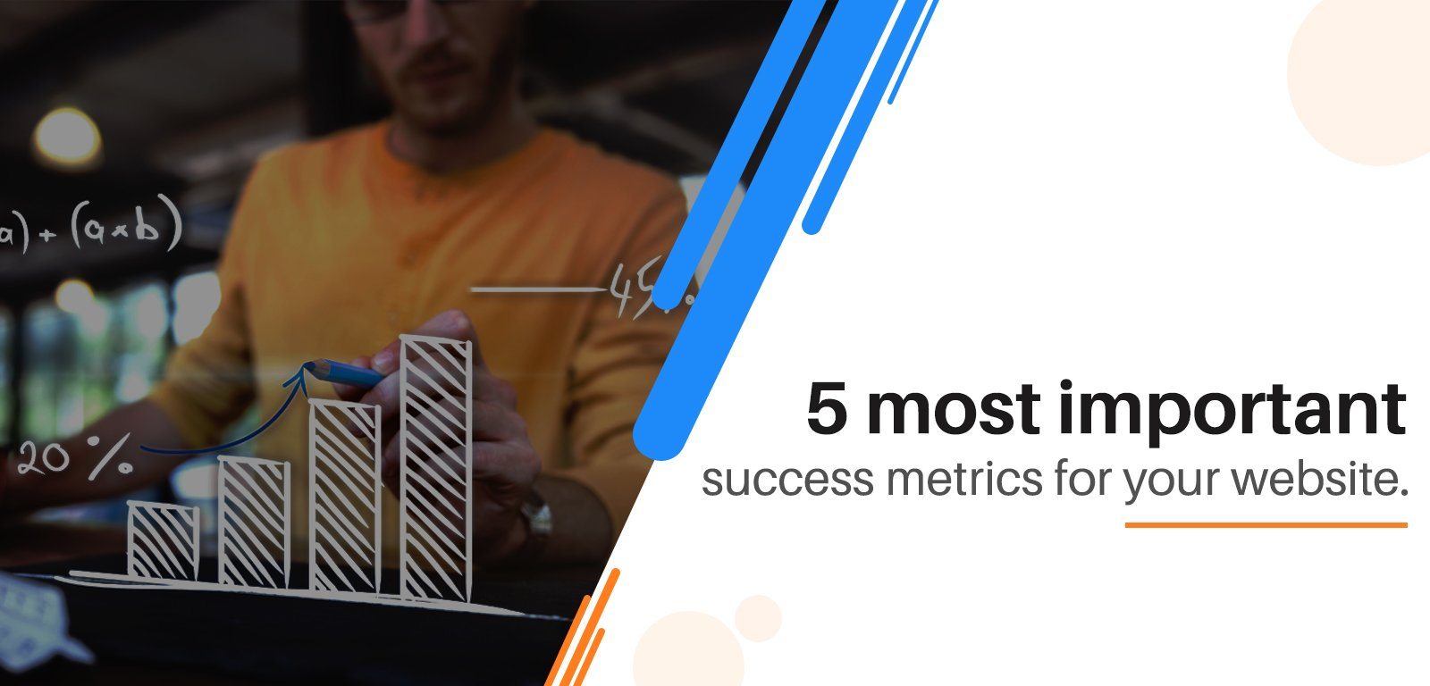 5 Most important success metrics for your website