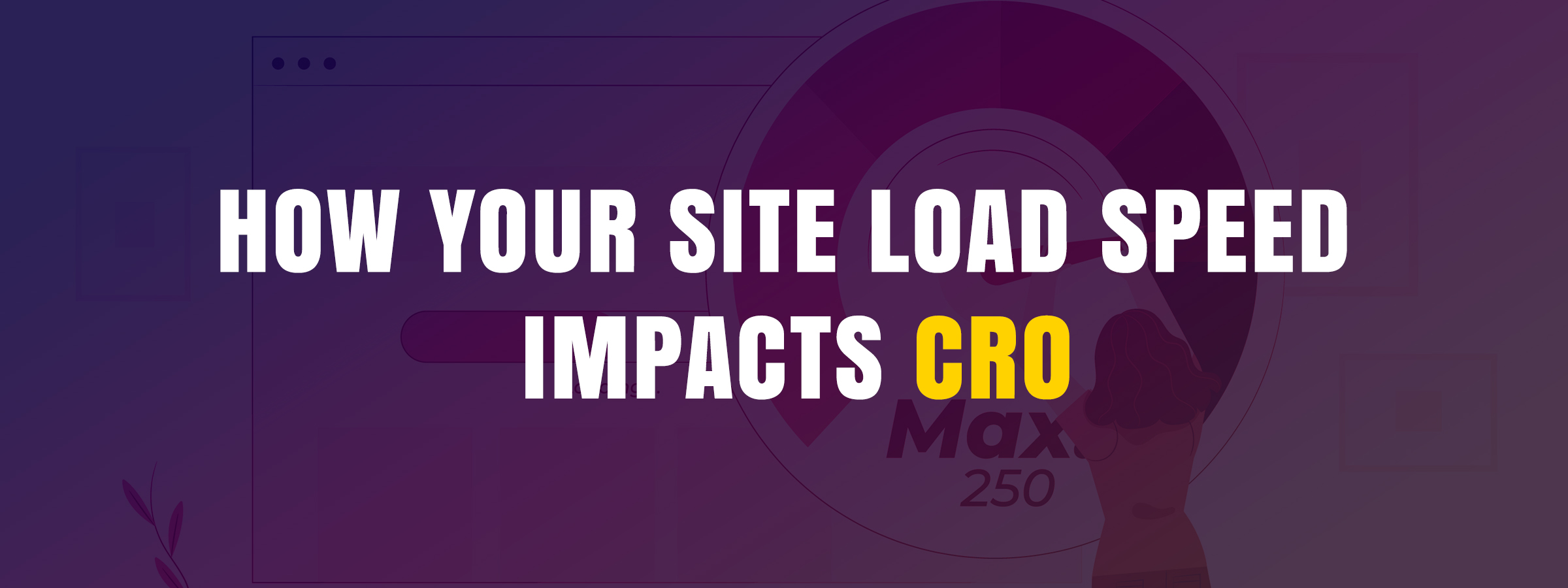 How your site load speed impacts CRO