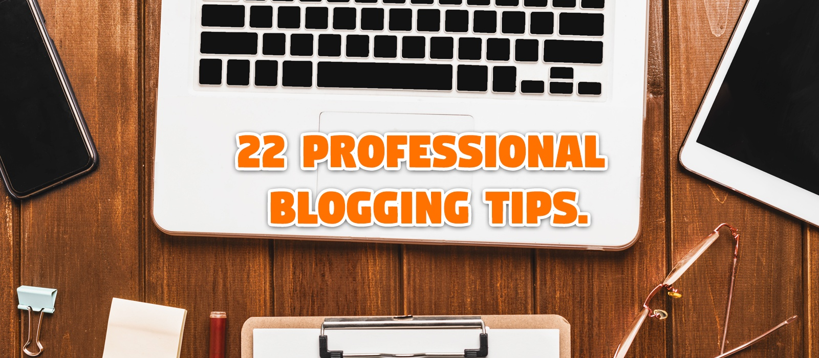 22 professional blogging tips