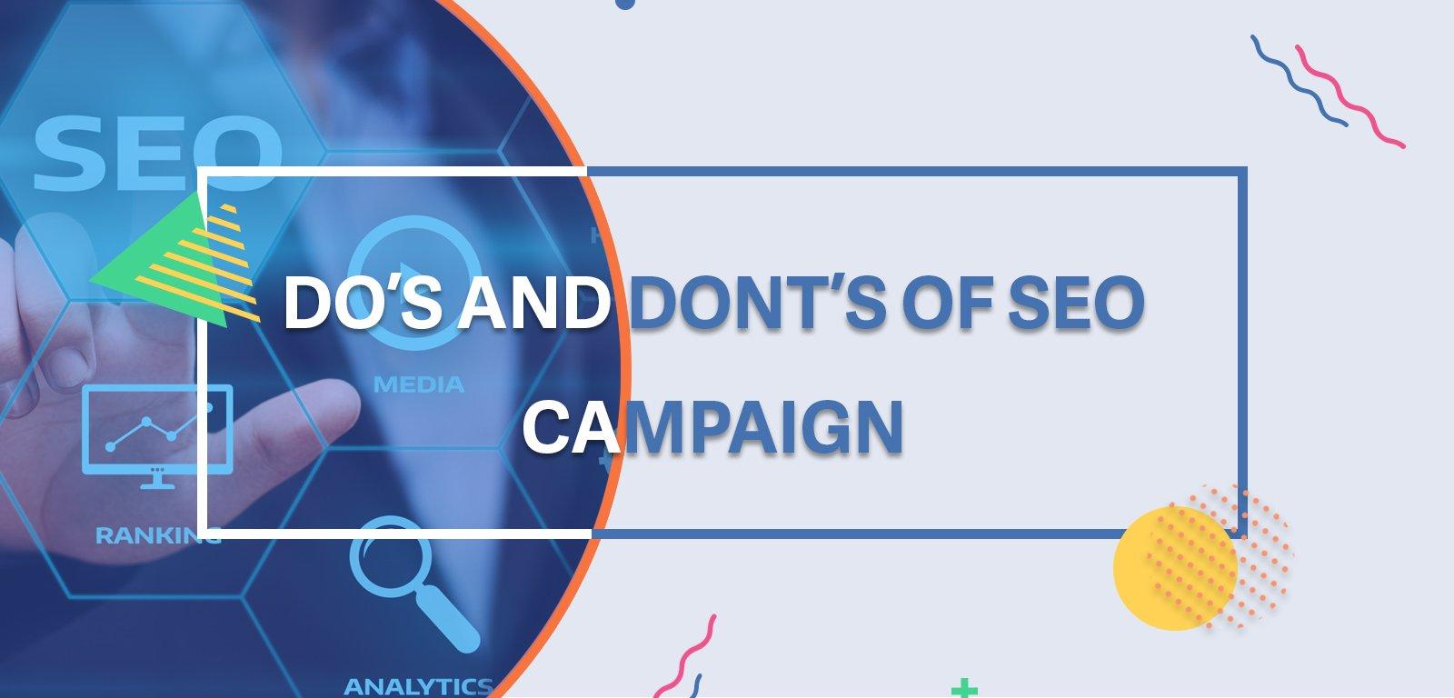 Web Banner- SEO campagin