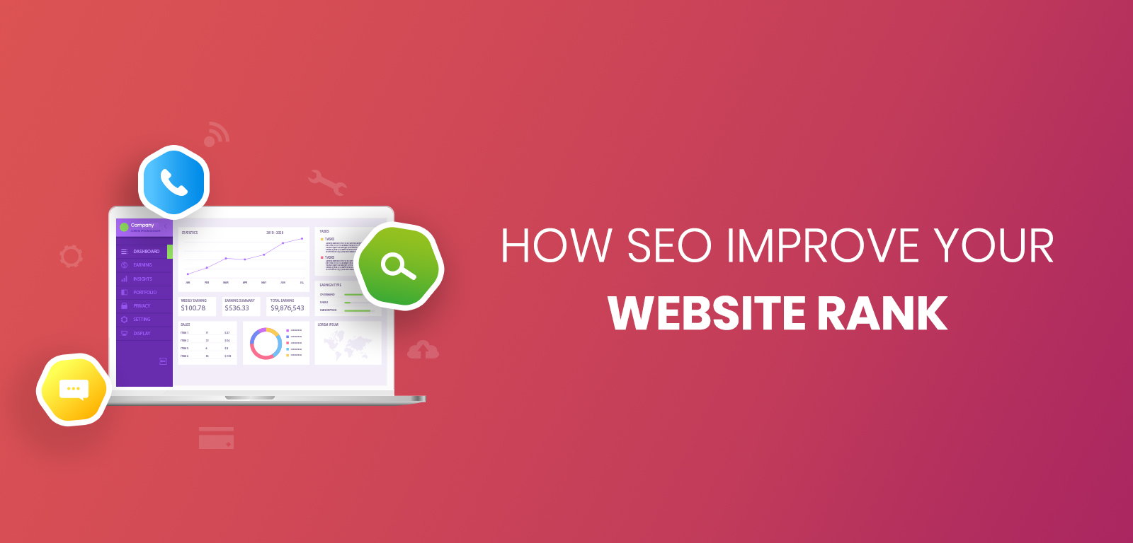 How SEO improve your website rank