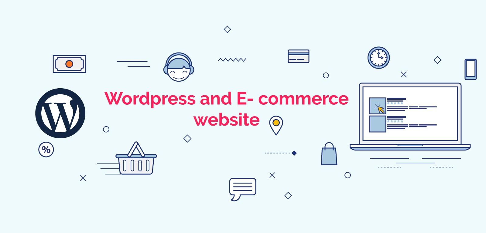 WordPress and E-Commerce website